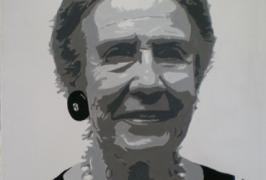 Antonia/Acryl auf Leinwand/40x50/2007