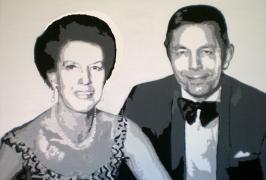 Silberne Hochzeit/Acryl auf Leinwand/60x50/2008