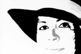 Selbstporträt/Acryl auf Leinwand/33,5x46/2006